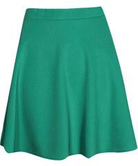 BOOHOO Smaragdová sukně Roseanna