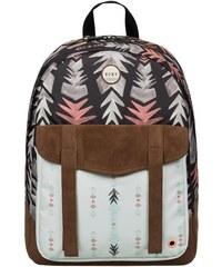 Batoh Roxy Melrose backpack BIG ethnic loving print combo ONE SIZE