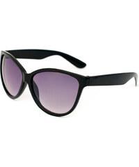 Lesara Sonnenbrille mit großen Gläsern - Schwarz