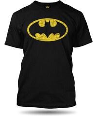 Tričko Batman Distressed pánské XL oficiální kolekce Batman BATDISM3