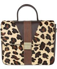 Aigner Tasche - Messenger Bag Leather Brown Leopard - in braun - Umhängetasche für Damen