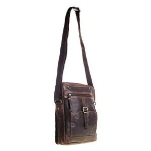 Spikes & Sparrow - Pánská kožená taška přes rameno