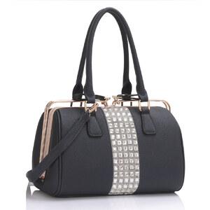 LS fashion Dámská kabelka LS00345 tmavě modrá