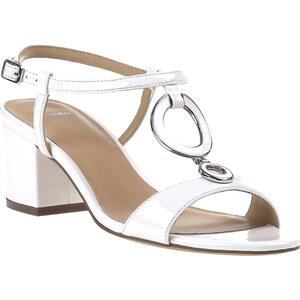 Baťa Lakové bílé sandály