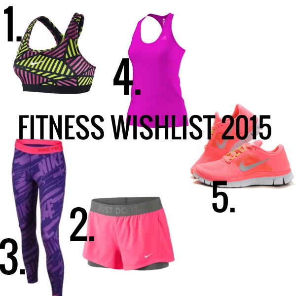 Fitness wishlist 2015