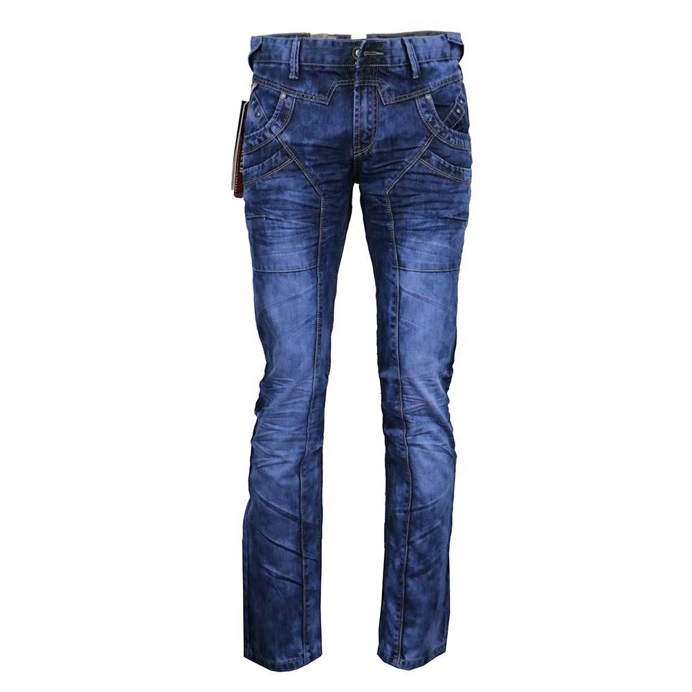 DTG kalhoty pánské C-90 jeans prošívané stylové džíny - Glami.cz 05a2e4e5ff