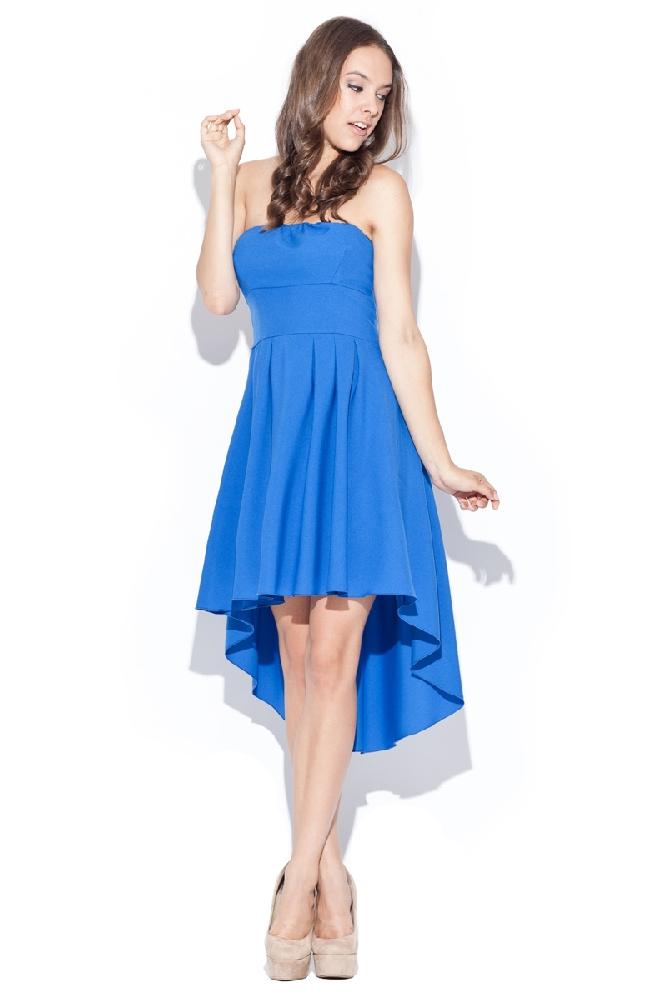 f74a188e335e Společenské šaty Katrus K031 modré - Glami.cz