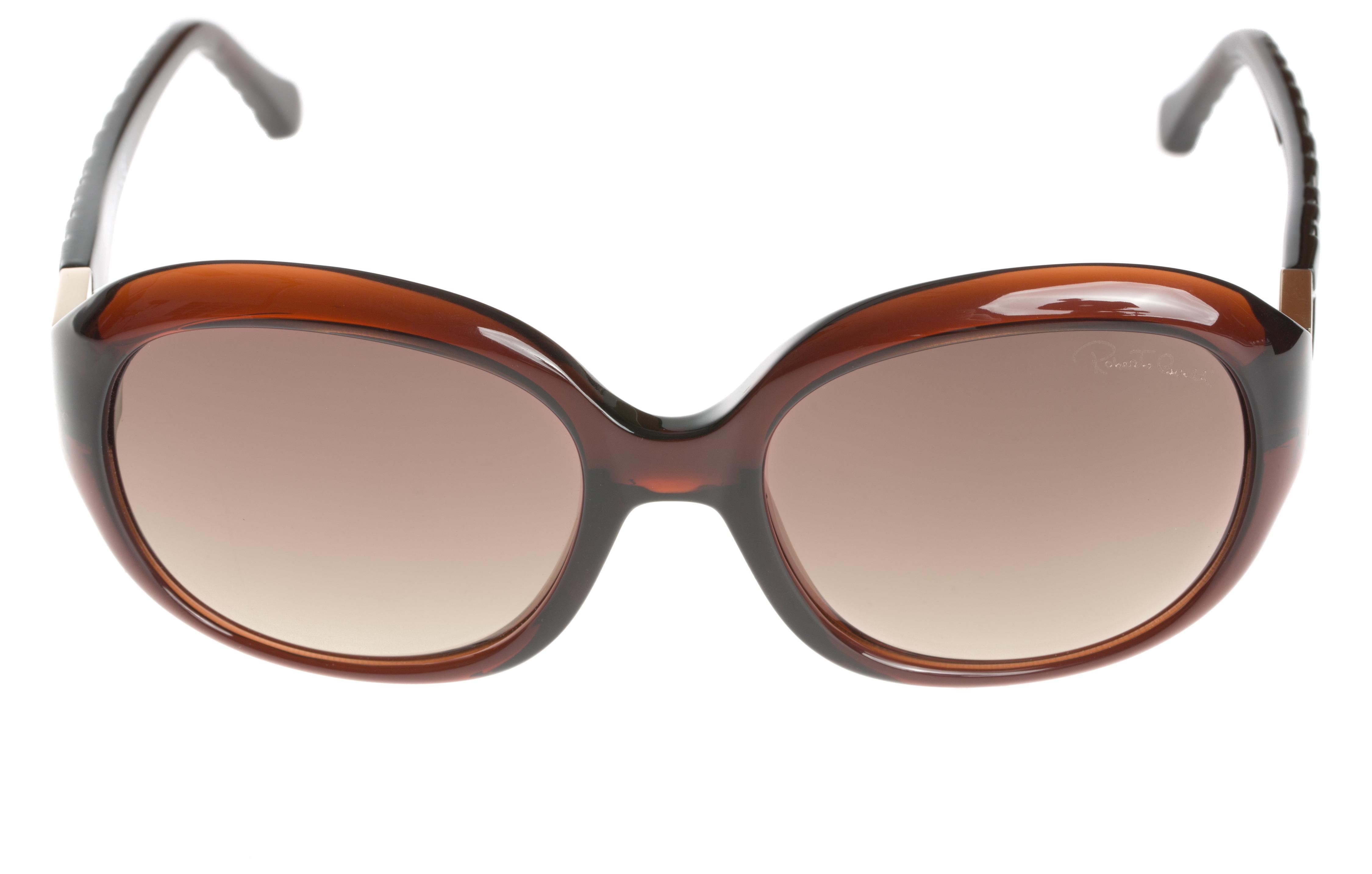 a312125cc Roberto Cavalli Achernar Slnečné okuliare Hnedá - Glami.sk
