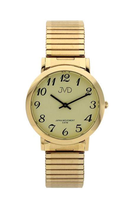 e14fa589ffa Dámské kovové zlacené hodinky JVD steel J1048.3 - Glami.cz