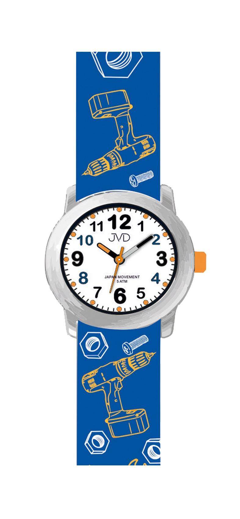 Dětské náramkové hodinky JVD J7175.2 pro dětské kutily - Glami.cz a4569a37060