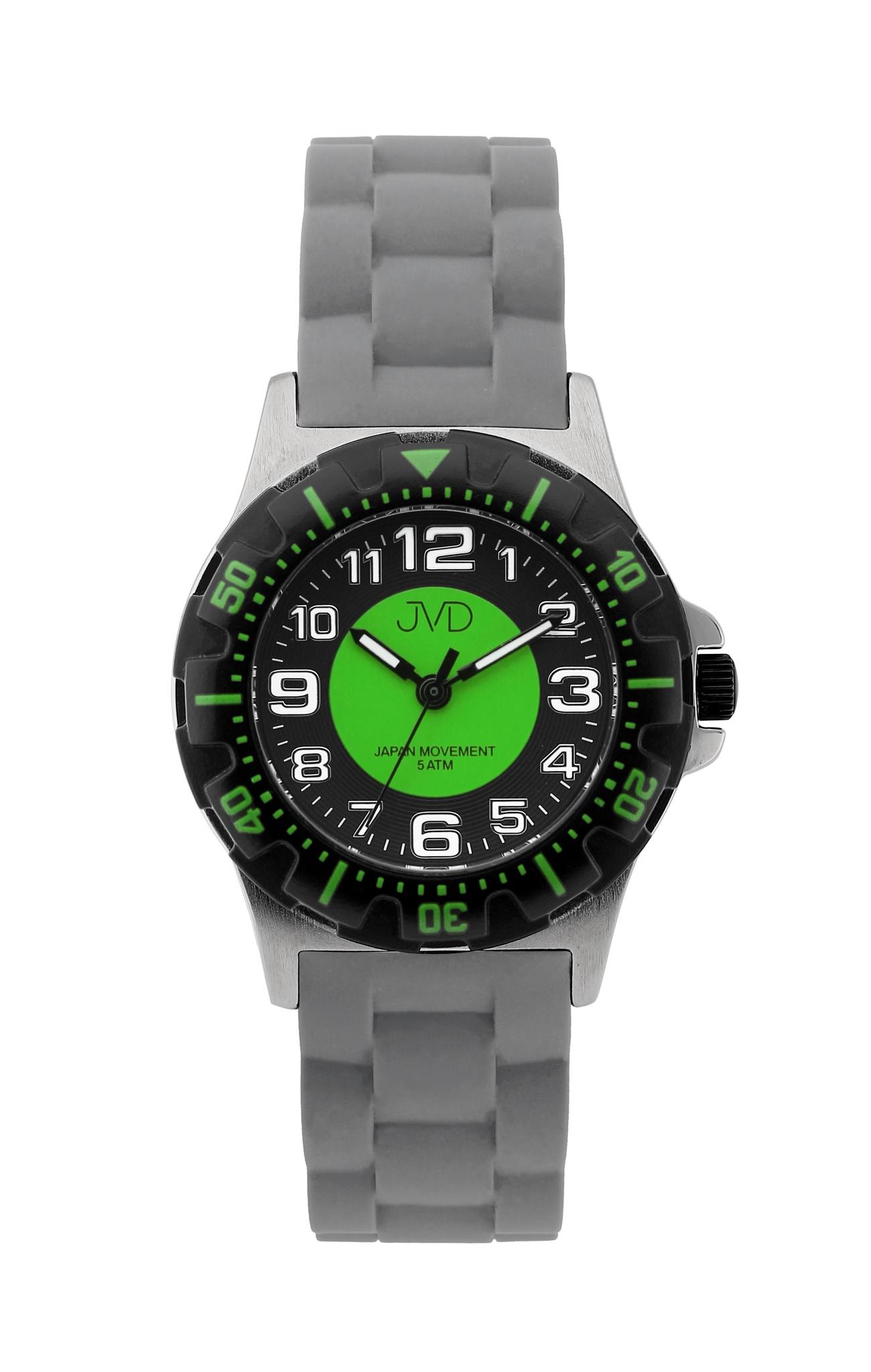 Chlapecké dětské vodotěsné sportovní hodinky JVD J7168.3 - 5ATM ... 30a4789a4da