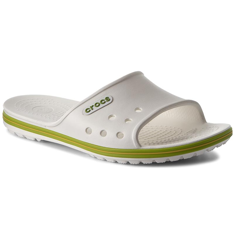 Nazouváky CROCS - Crocband II Slide 204108 White Wolt Green - Glami.cz 9d062f8da4