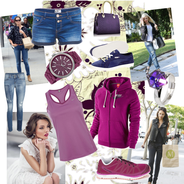 Fialová moda ♥