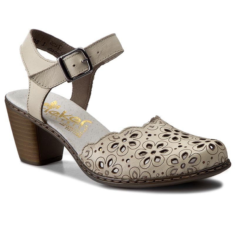 Sandále RIEKER - 40953-80 Weiss - Glami.sk b08637c952