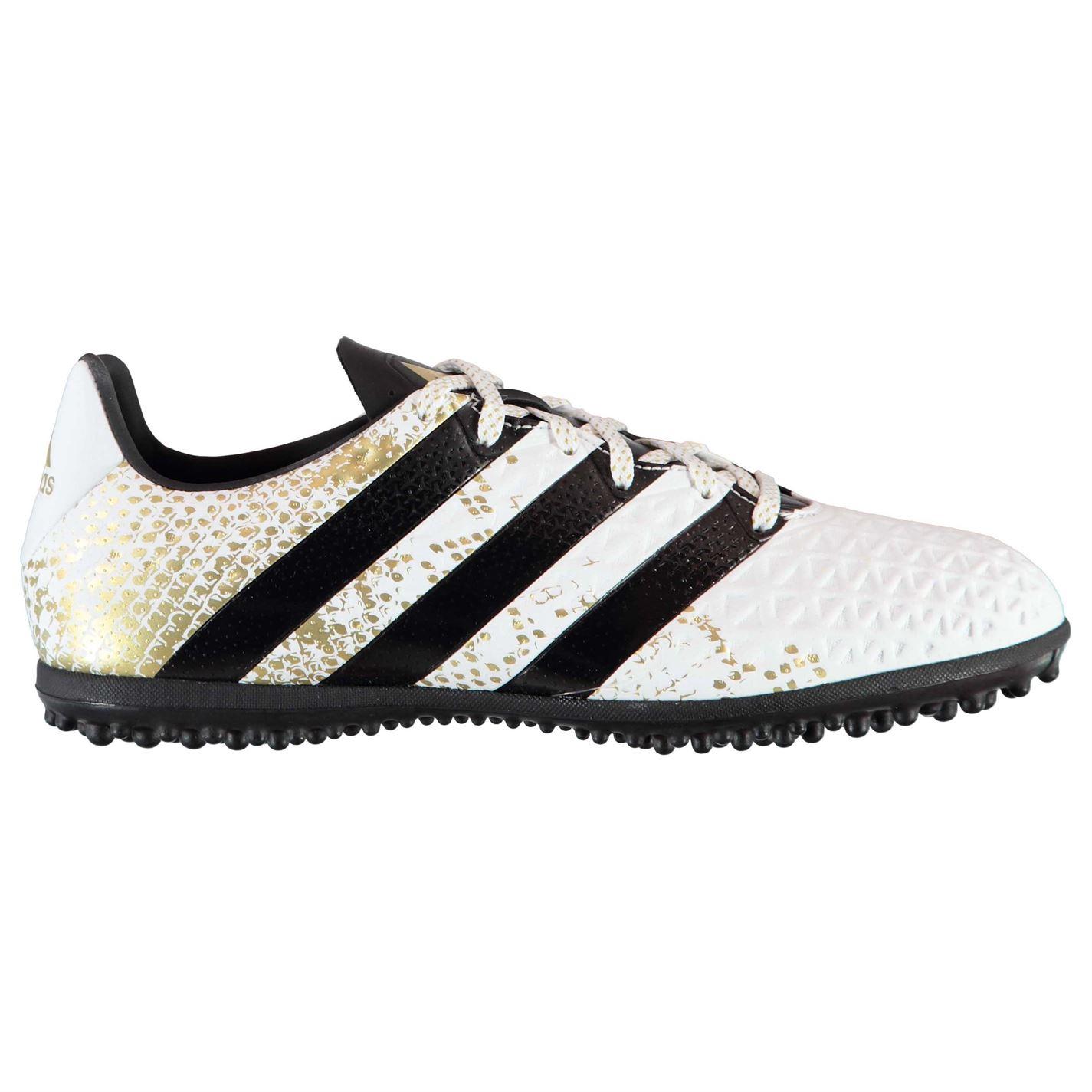 adidas Ace 16.3 pánské TF Football Trainers White Black Gld - Glami.sk 1a9340cee2