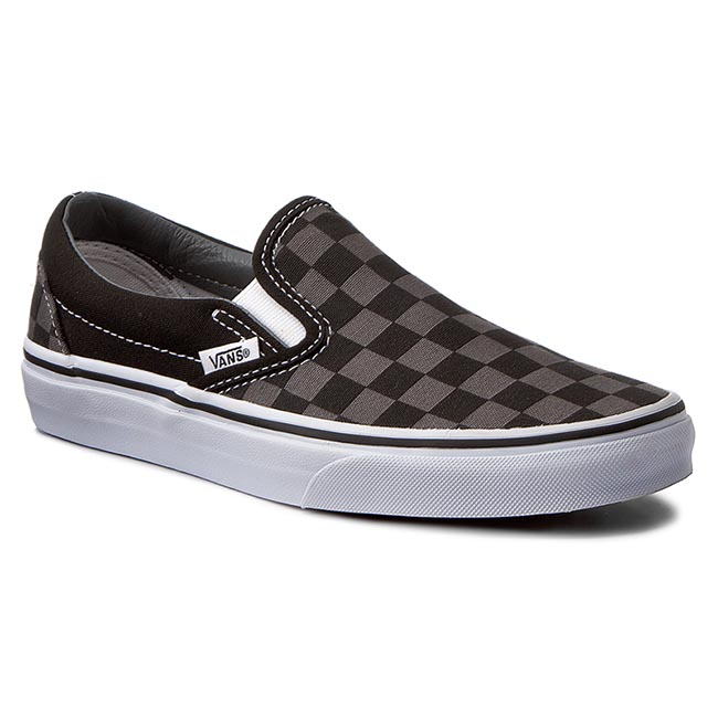 Tenisky VANS - Classic Slip-On VN000EYEBPJ Black Pewter Checkerboard ... 30ebe4d95a