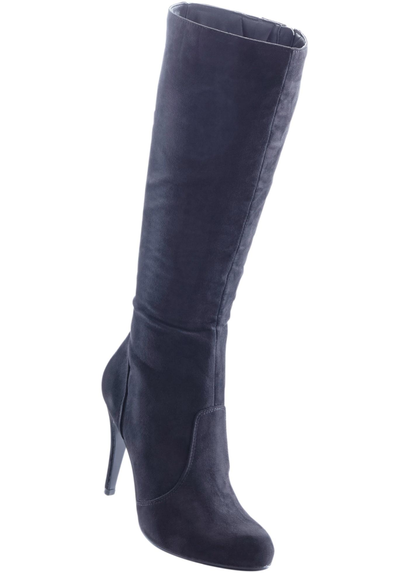 Pour Pour Femme Bonprix Noir Bottes Bottes Bodyflirt xaSHAta 6d976396198c