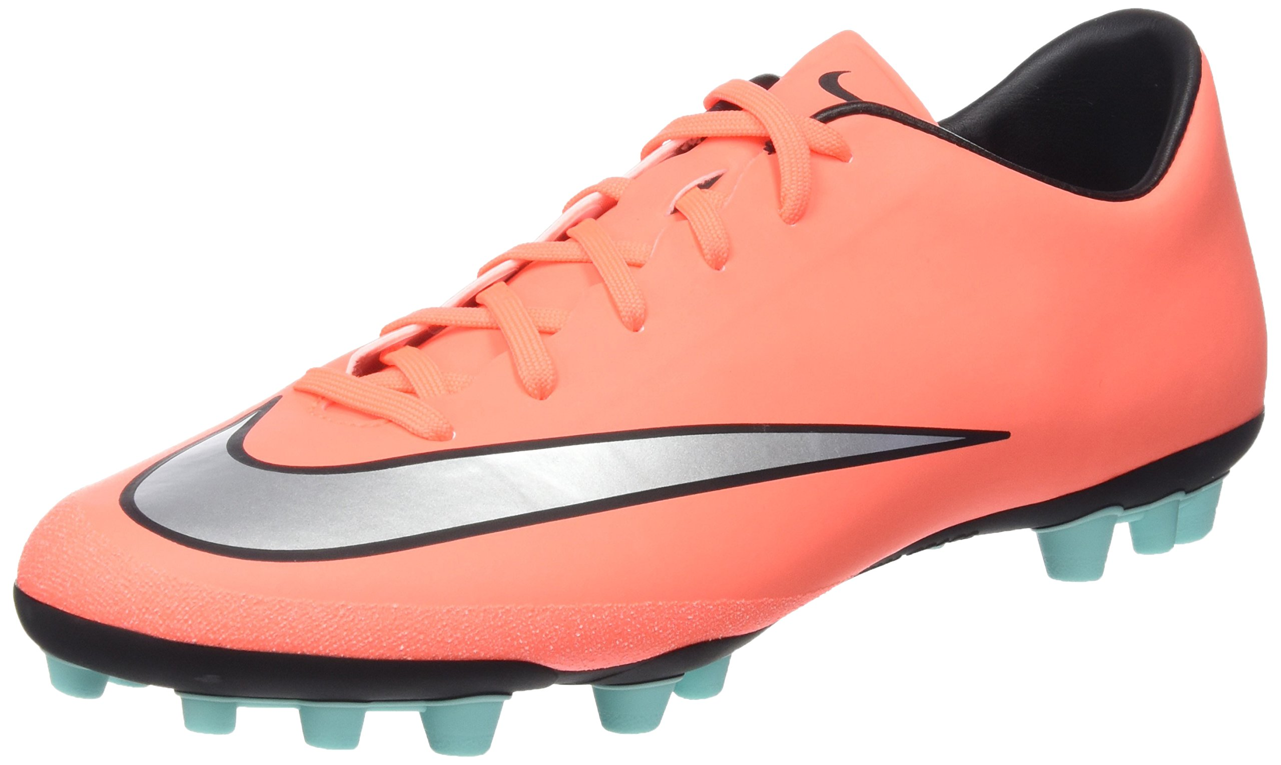 Nike Mercurial Victory V AG R, Chaussures de Football Compétition Homme,  Multicolore (Orange), 44.5 EU
