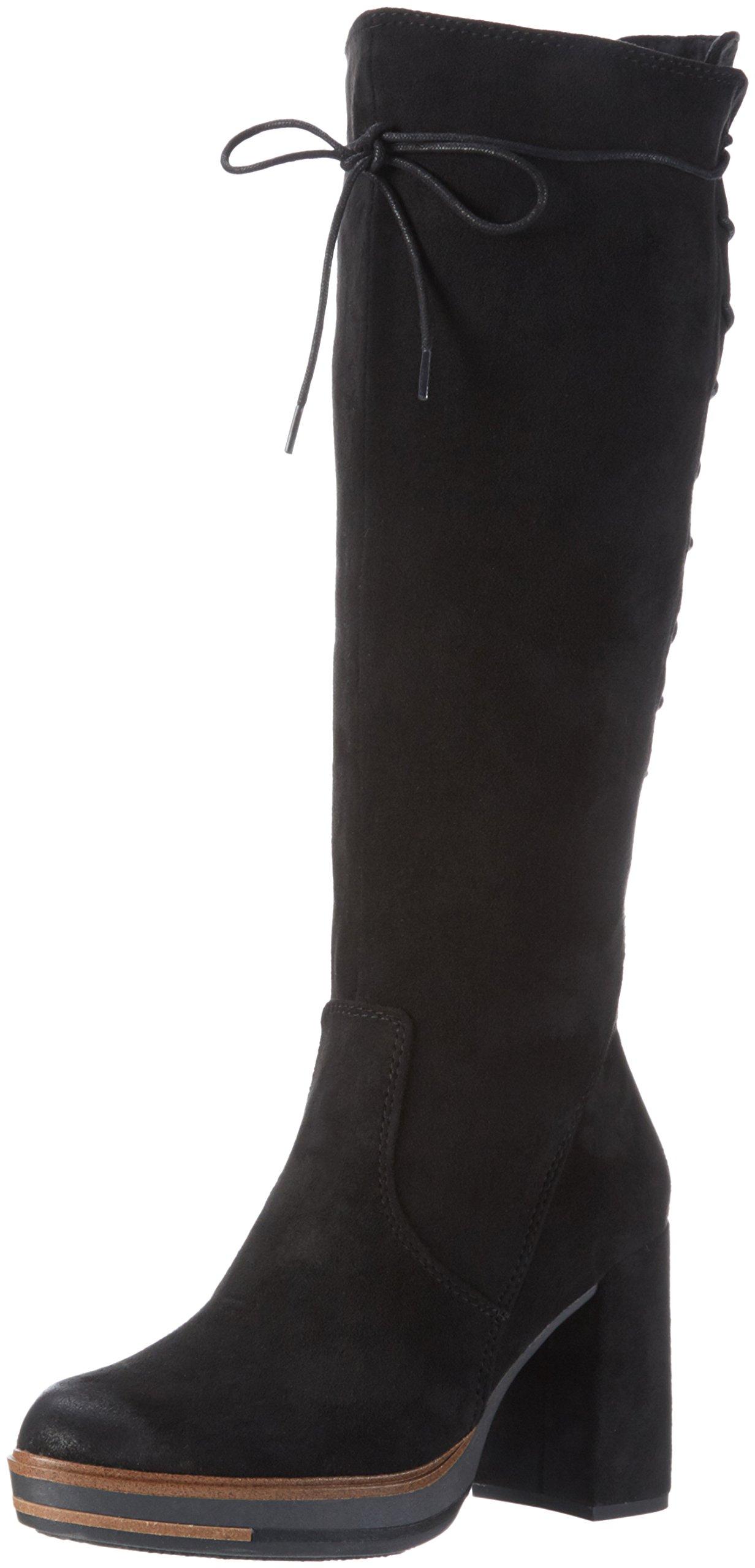 Black longues 002 Noir Bottes Antic 37 Femme 25639 Tozzi EU Marco B1qwPpq