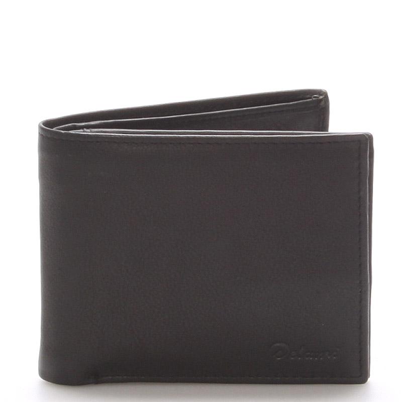 36d1cc4c2bf ... kožená peněženka černá - Delami Five černá. -25%. Pánská ...