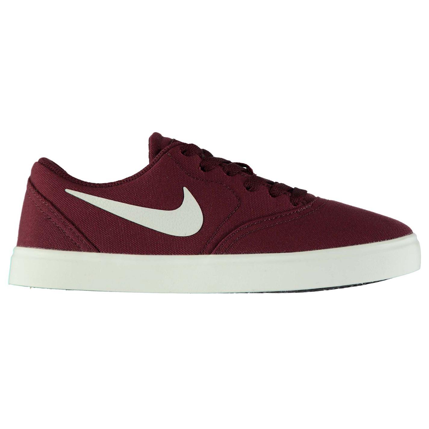 ae55b3952ea Boty Nike SB Check Canvas Skate Shoes Junior Boys - Glami.cz