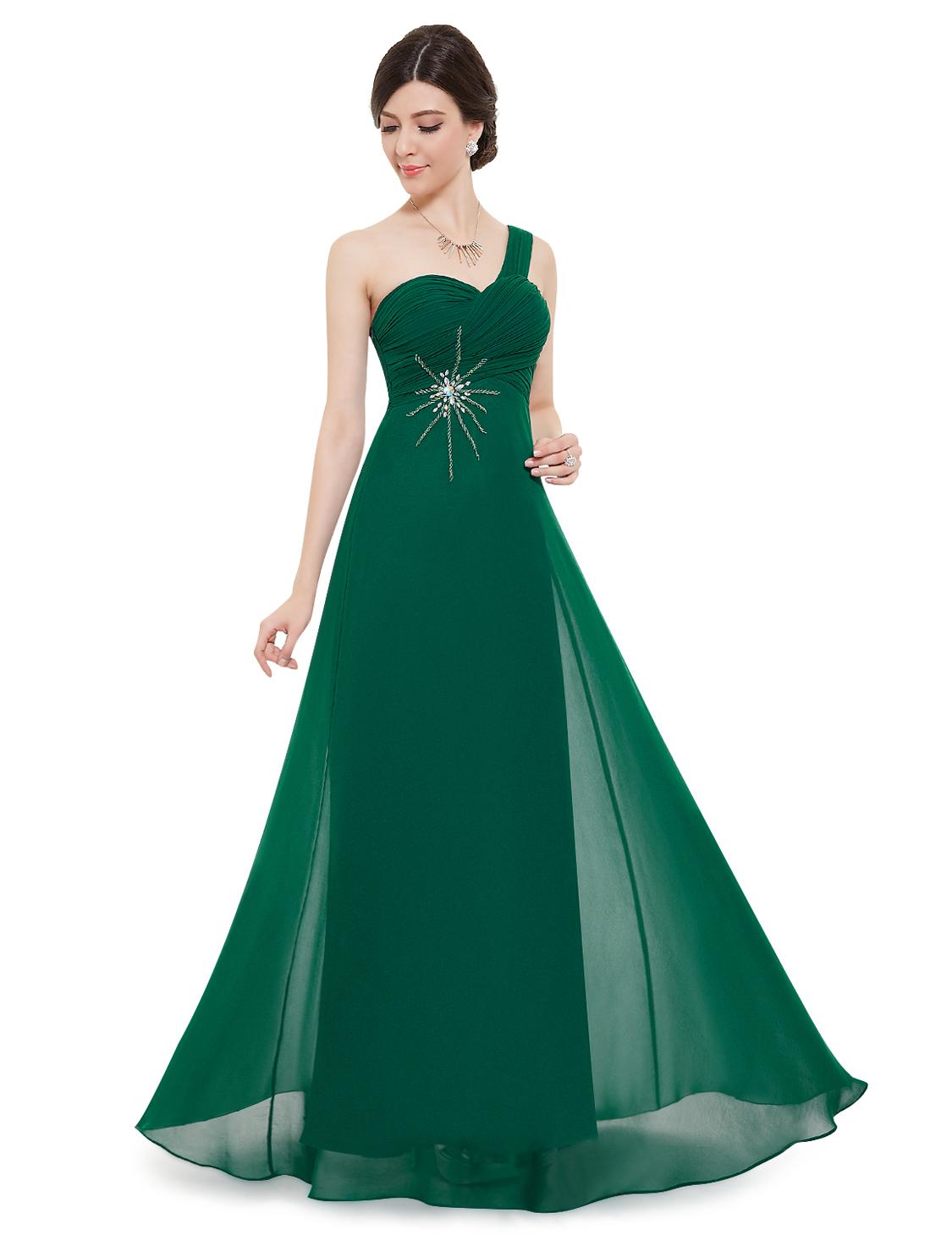 Ever Pretty šifonové zelené šaty 8077 - Glami.cz 336040756e6