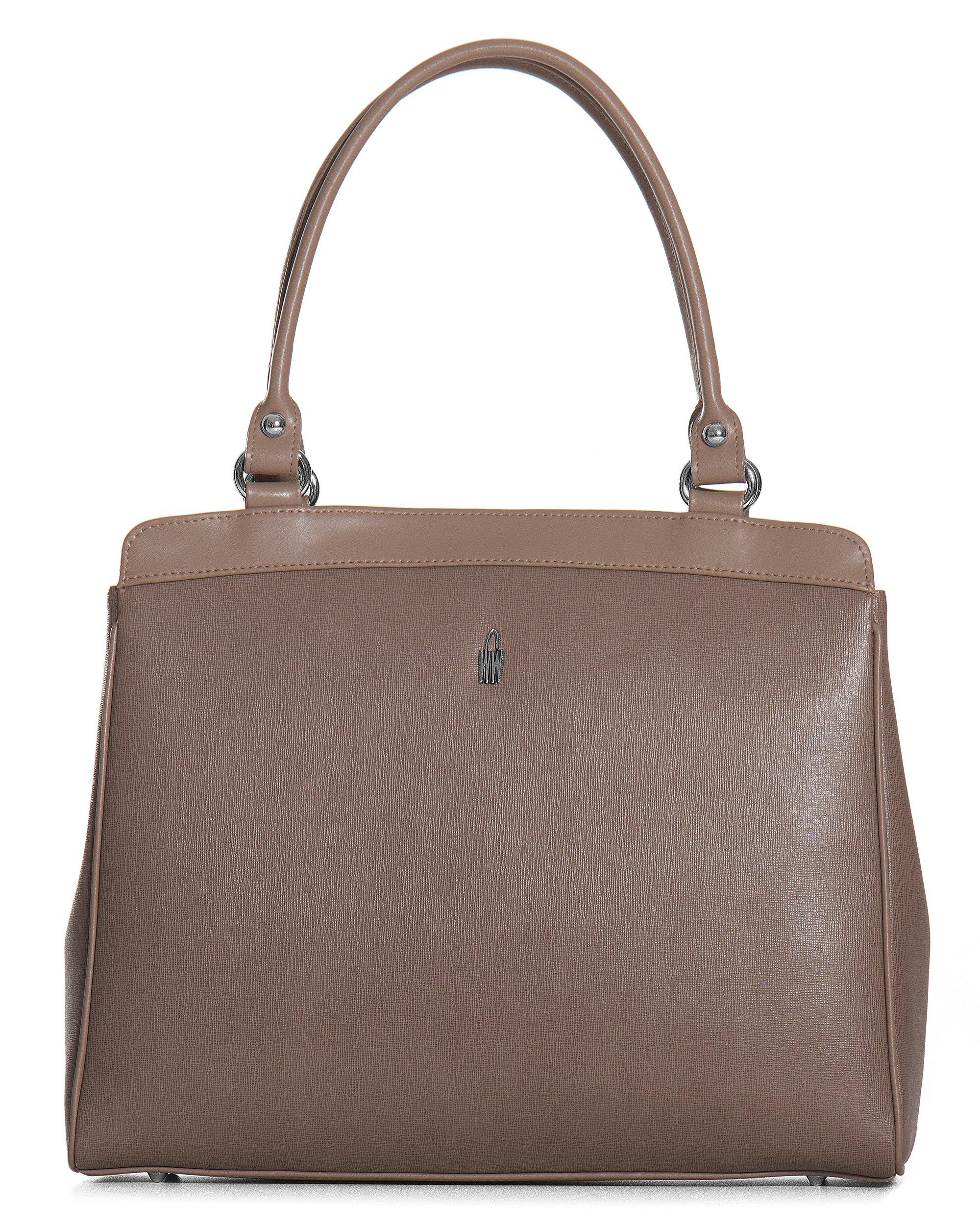 dbb1aec05e Hnedé kožené kabelky do ruky cez rameno Wojewodzic 31209 EA21 LY21 ...