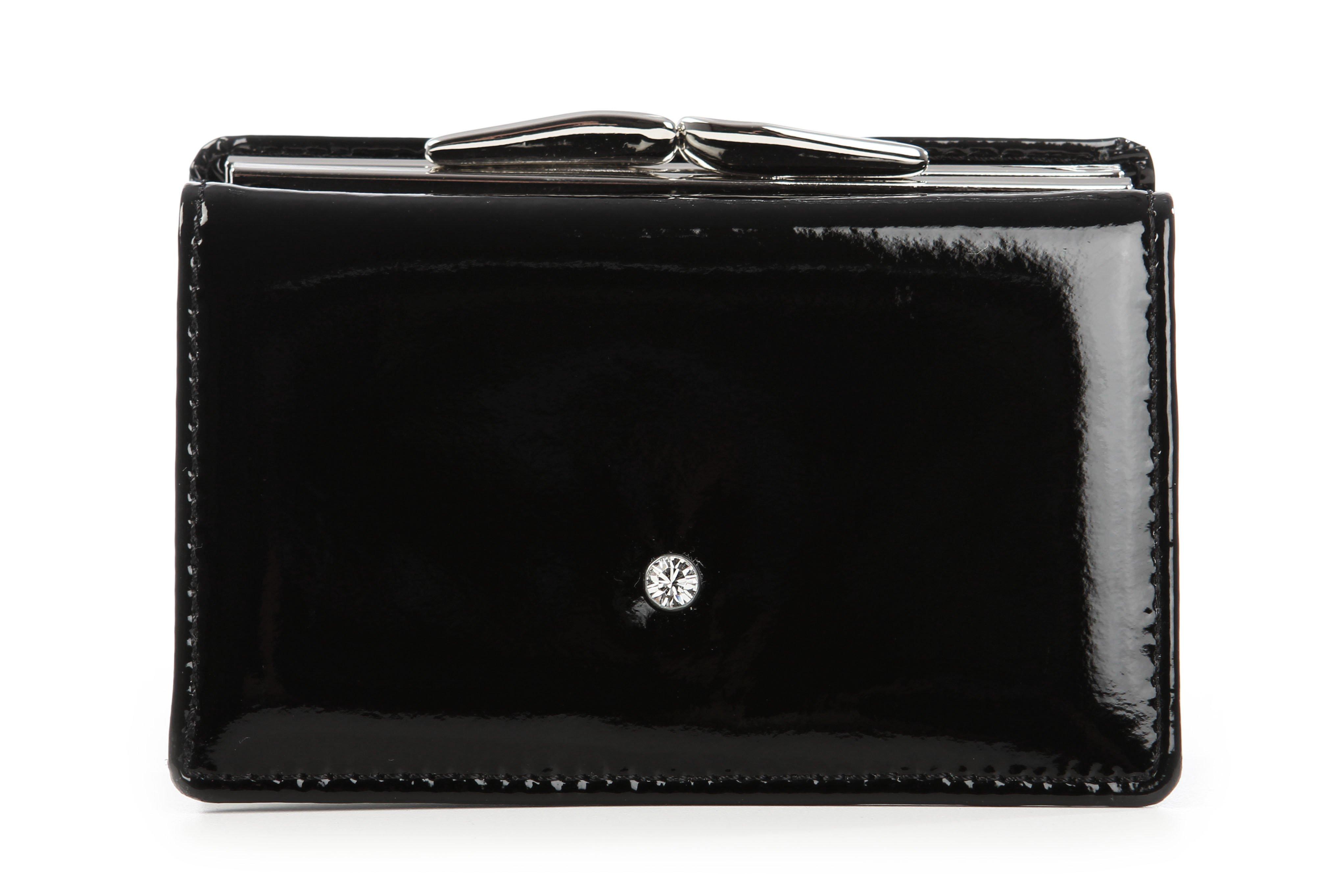e5c78ca0ef Kožená luxusná peňaženka Wojewodzic čierna 3PD51 PL01 - Glami.sk