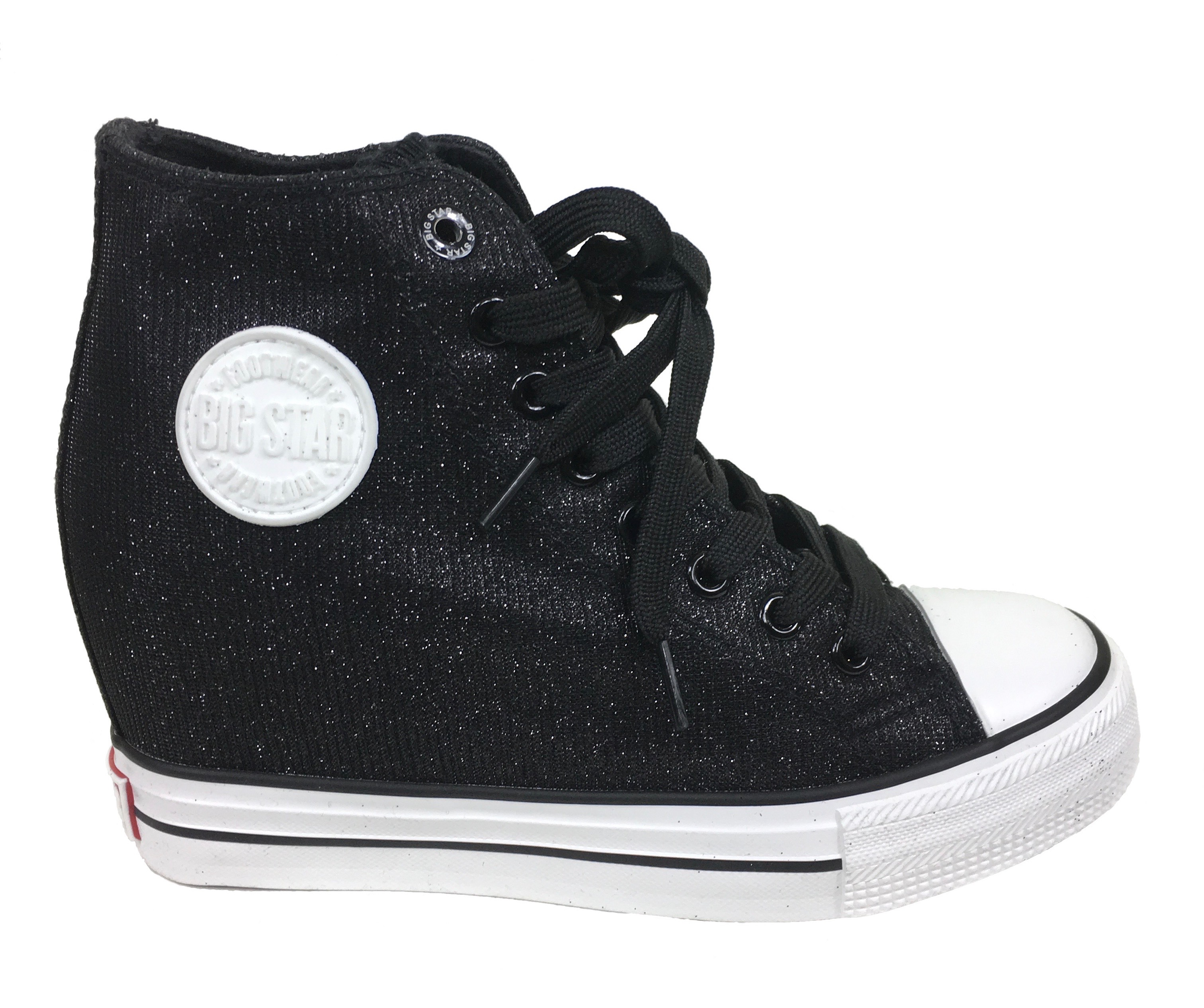 Dámské boty tenisky BIG STAR černé W274674 - Glami.cz bbbc55b610