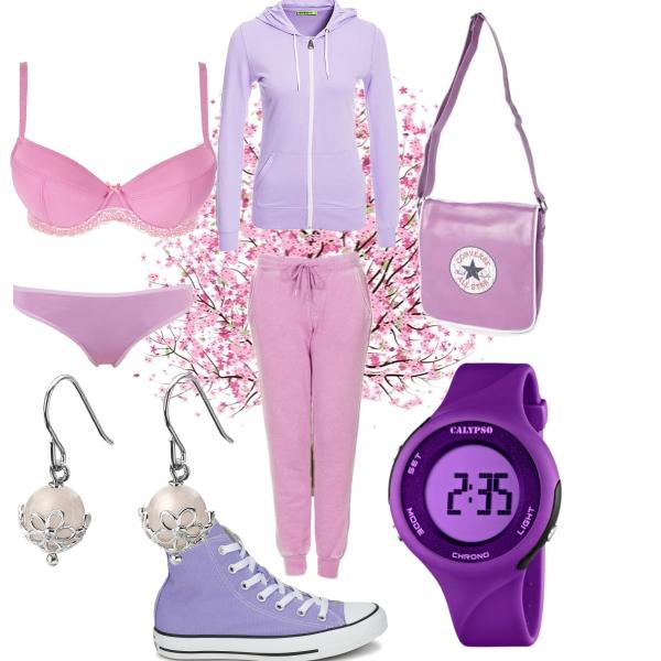 Sport style purple