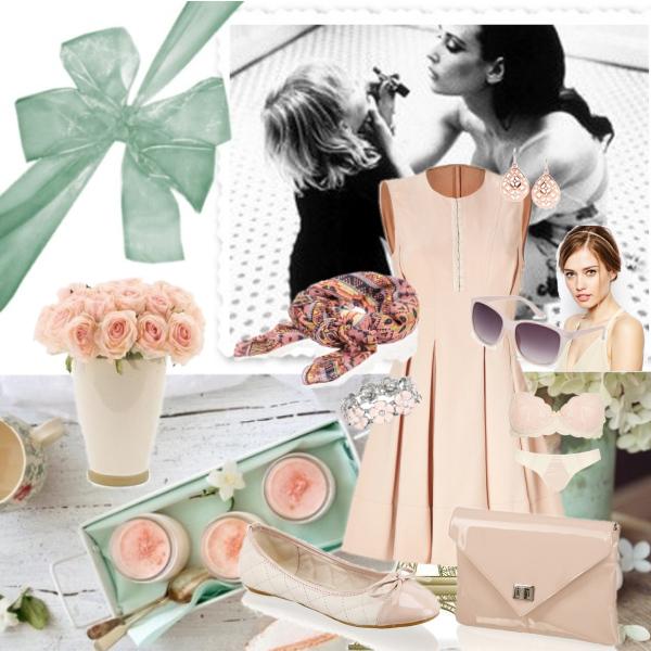 Růžový Letní Outfit :33