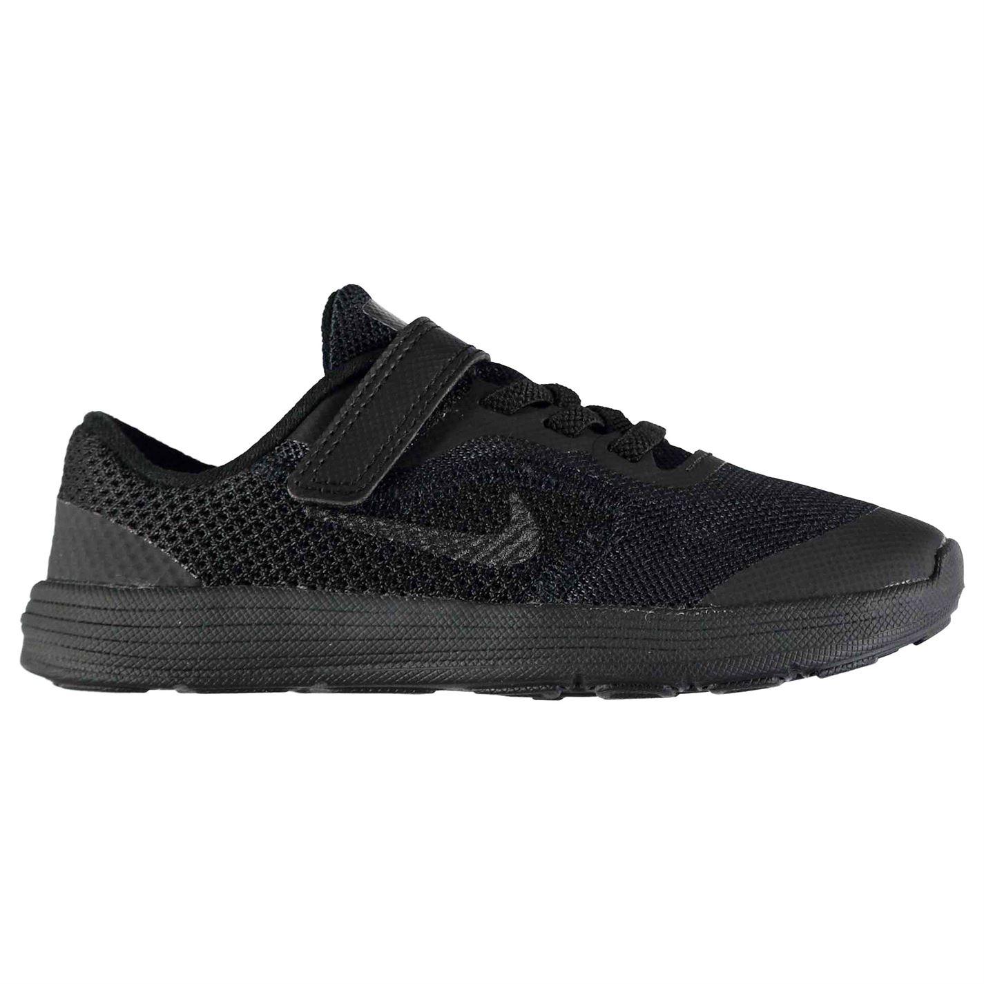 Nike Revolution 3 Trainers Infant Boys Black Black - Glami.sk 978a6bce663