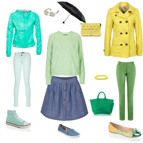 Žlutá a zelená...