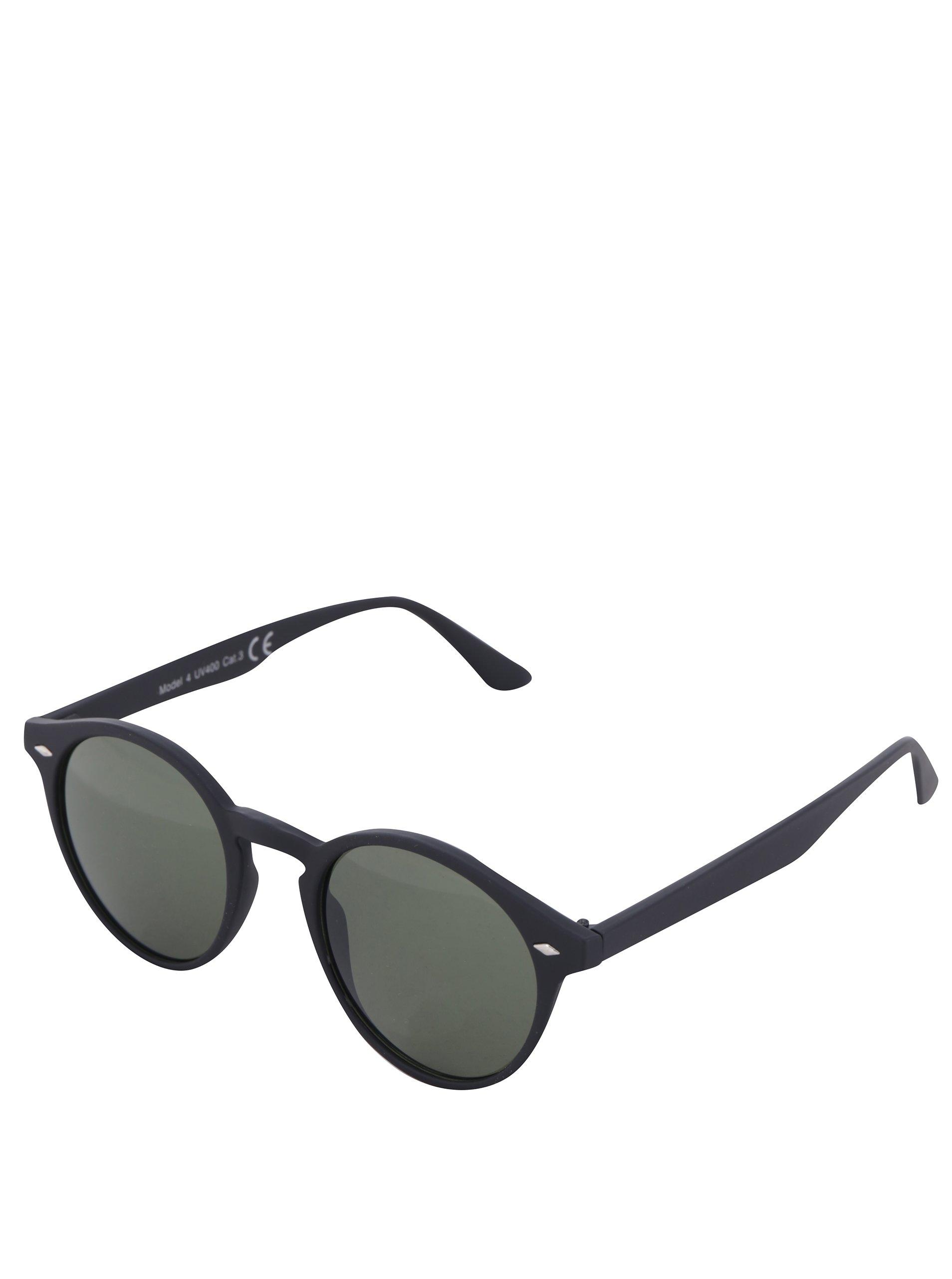 Čierne okrúhle slnečné unisex okuliare ONLY   SONS Sunglasses 4d4108778c8