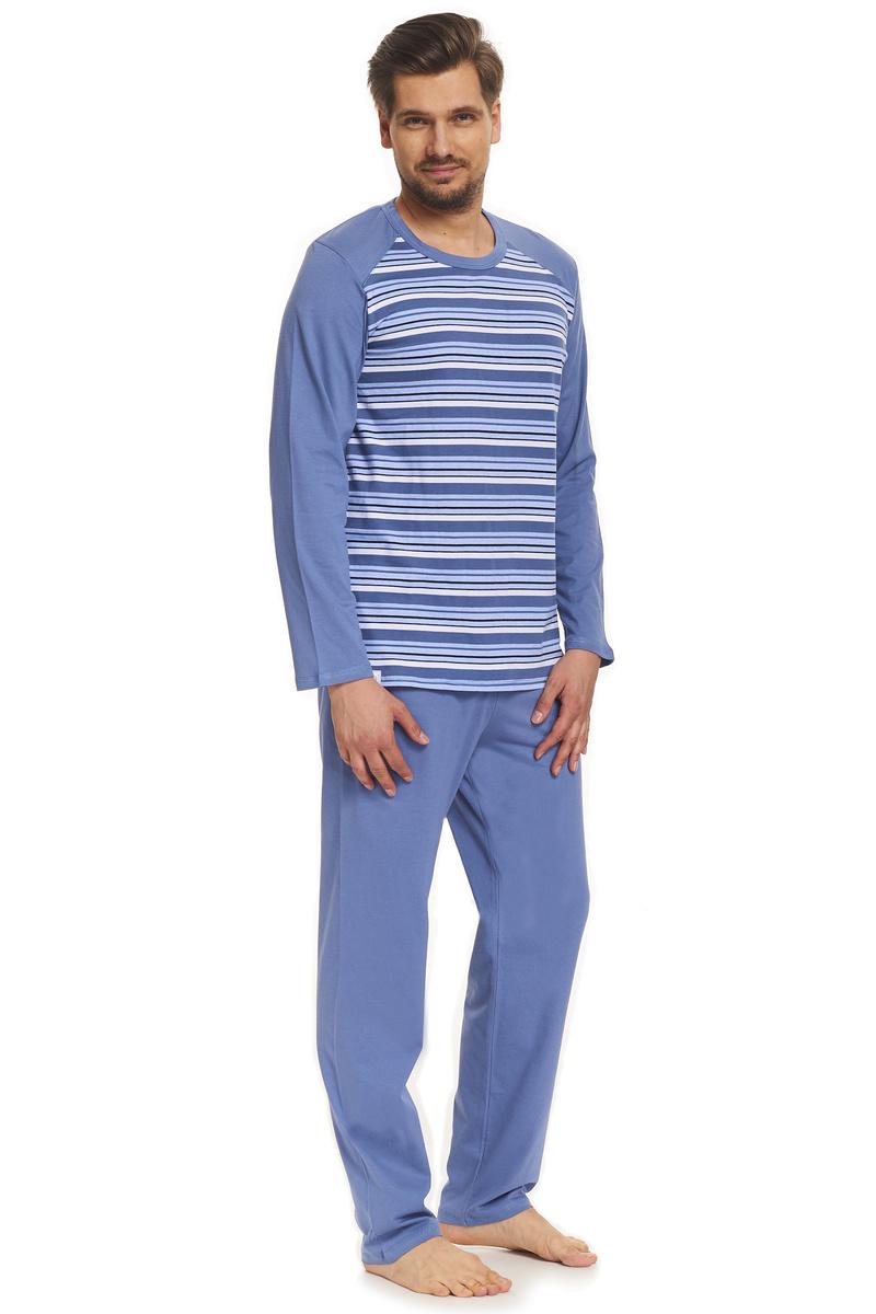 83bfcd9014d3 DN Nightwear Pánske pyžamo Rufus s pásikmi - Glami.sk