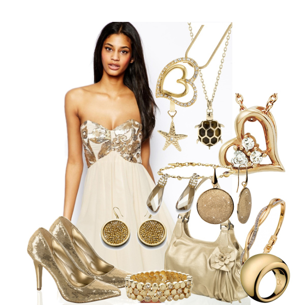 Dorado y glamurosa