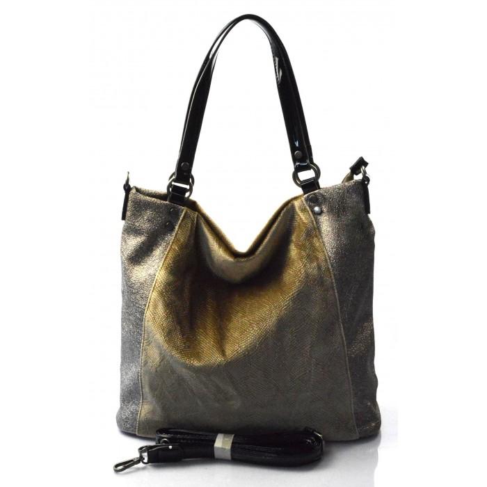 ... moderní lesklá hnědá aprikot kabelka na rameno vera Valeria 31322. -200  Kč -11% ... 3bfacb49af8