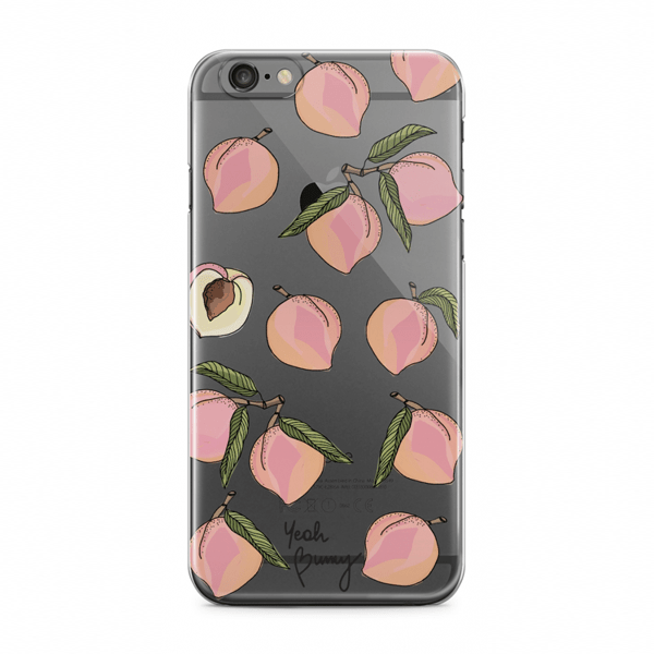 YEAH BUNNY Kryt na iPhone 6 6s Peaches - Glami.cz 6baaed09d5b
