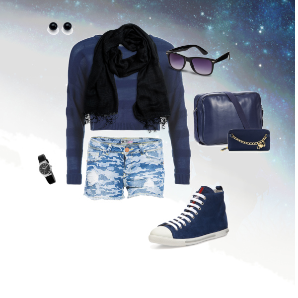 Blue Spring/Summer Outfit