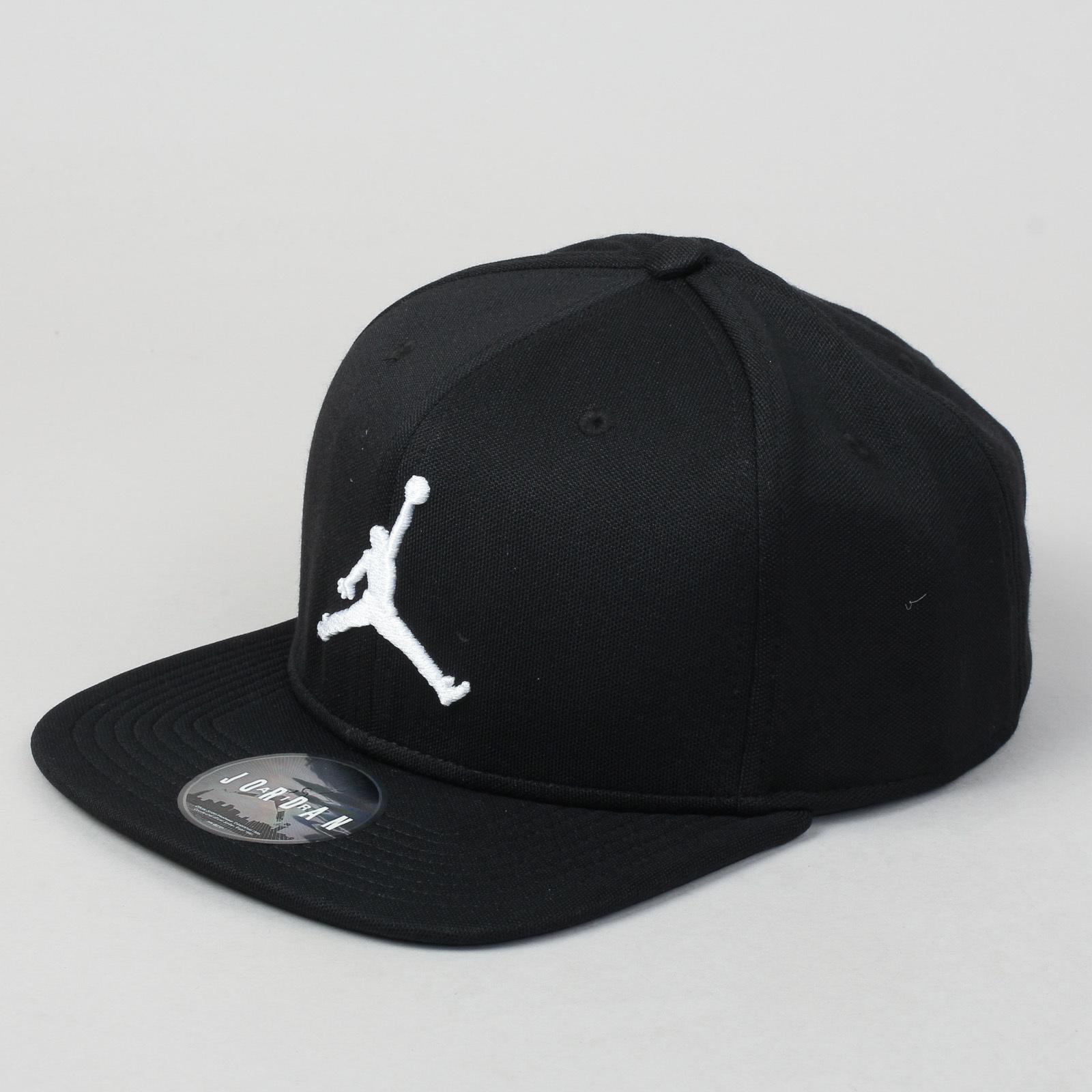 Jordan Jumpman Snapback černá   bílá - Glami.cz 5221f757cc