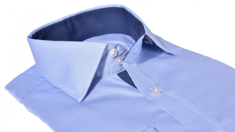 7f6b498332e3 Alain Delon Modrá Extra Slim Fit business košeľa - Glami.cz