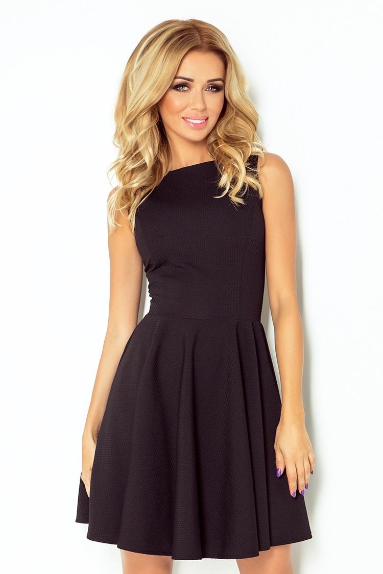 261cf1d6f191 numoco Společenské a plesové exkluzivní šaty s kolovou sukní krátké ...