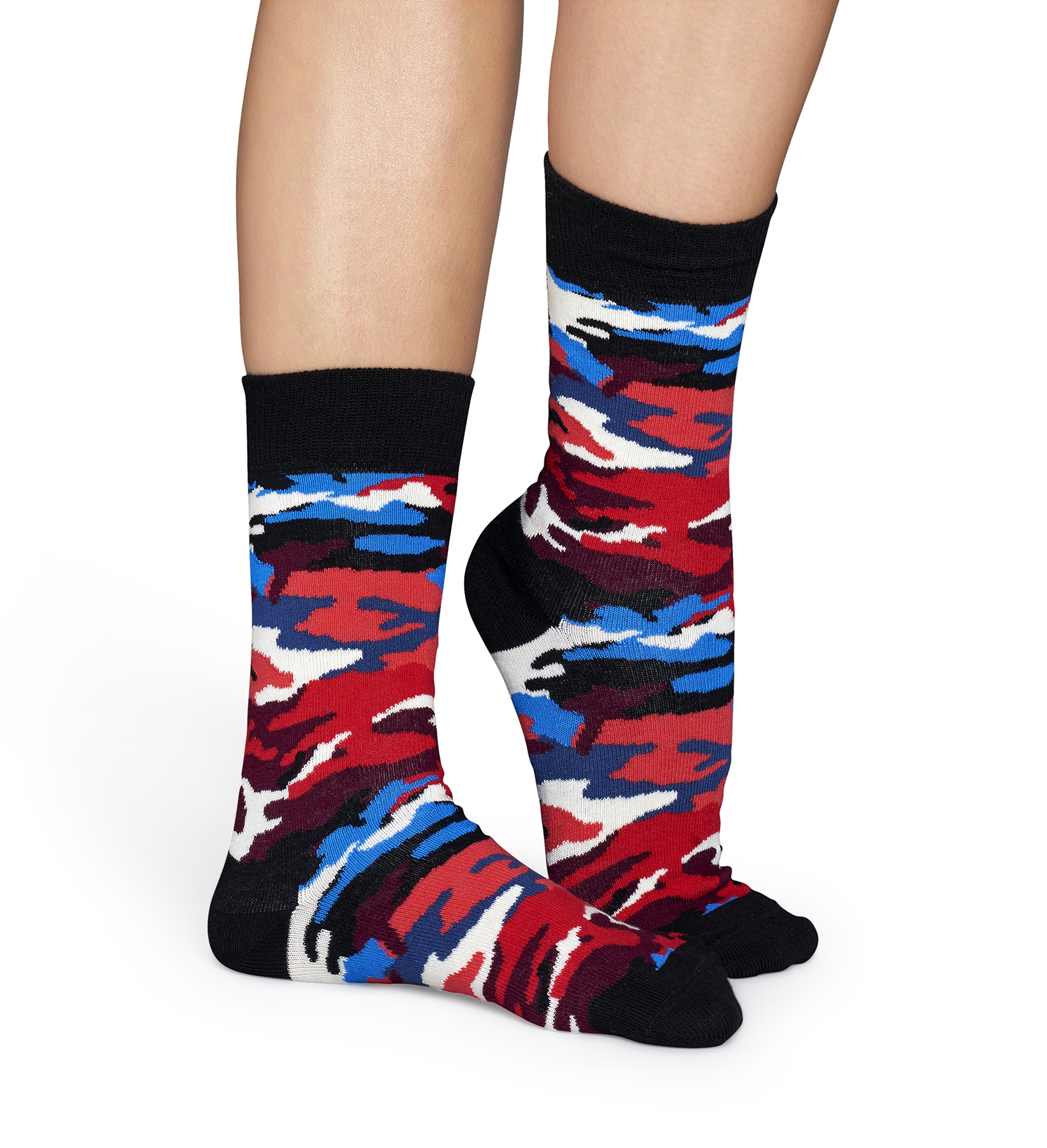 Barevné ponožky Happy Socks s maskáčovým vzorem Bark - S-M (36-40 ... cc43c57d8e