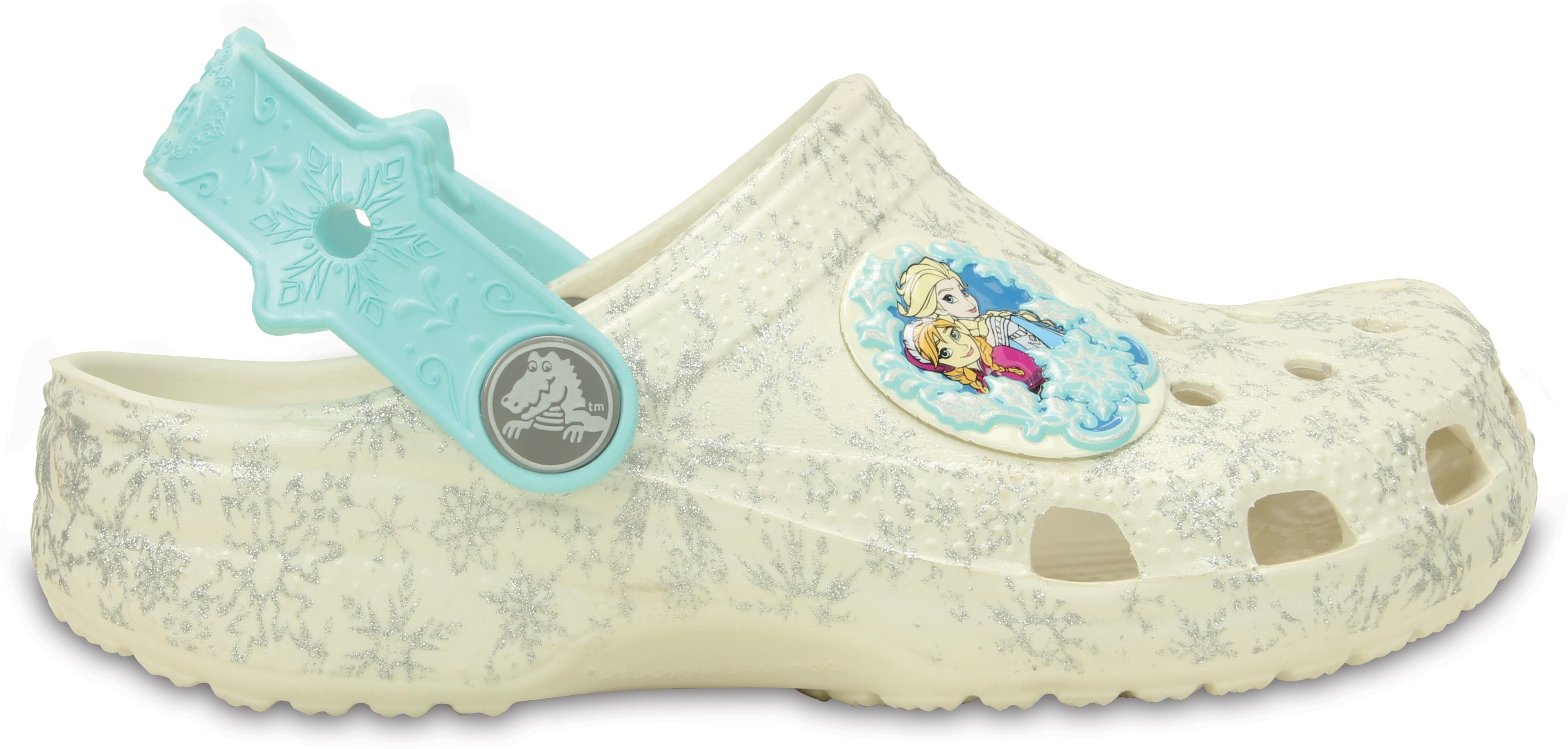 1a4ead9adf0 Crocs Classic Frozen Clog Kids - Oyster C4C5 - vel.20