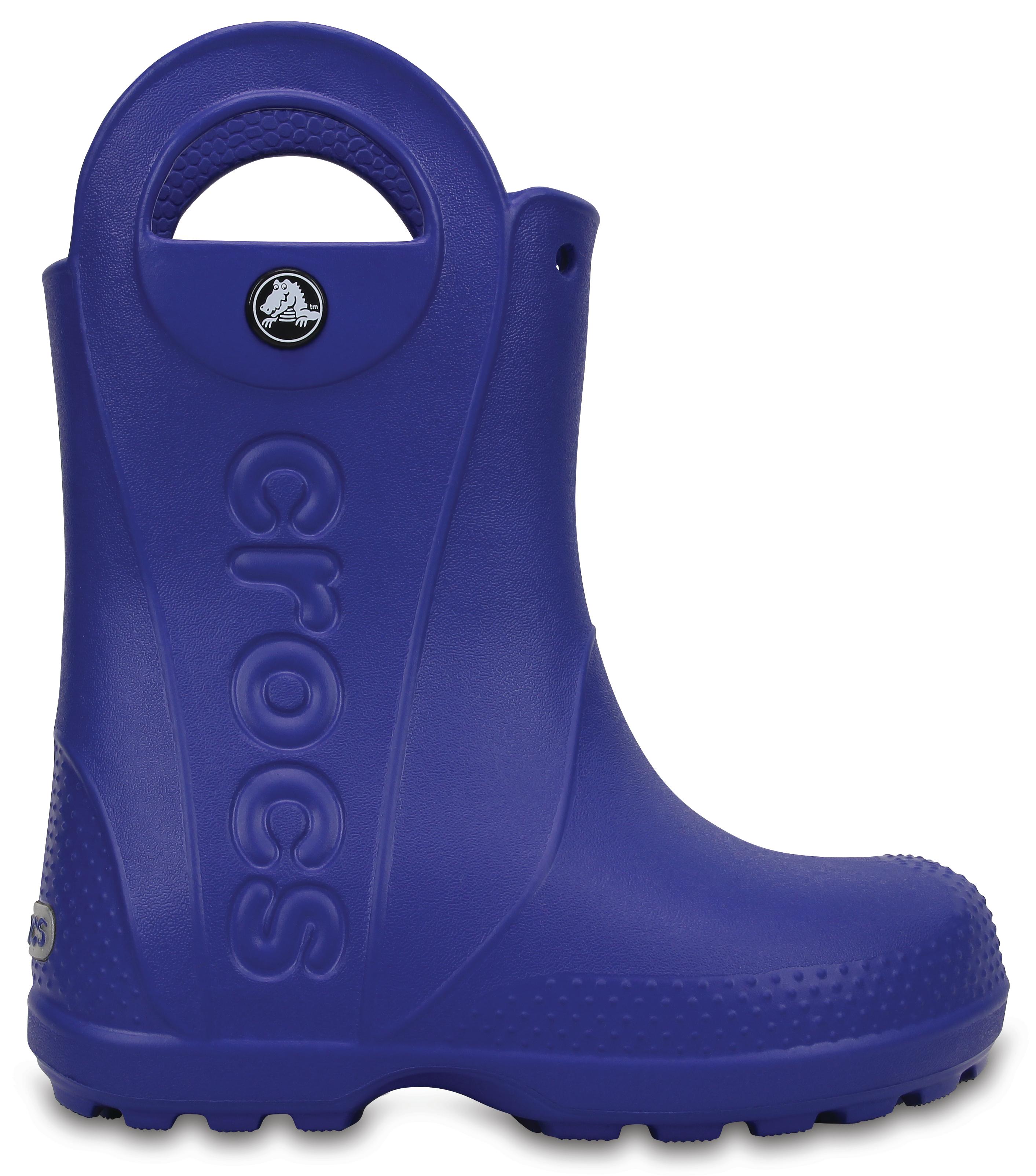 Crocs Handle It Rain Boot Kids - Cerulean Blue C10 - vel.27 63f52ecfc8