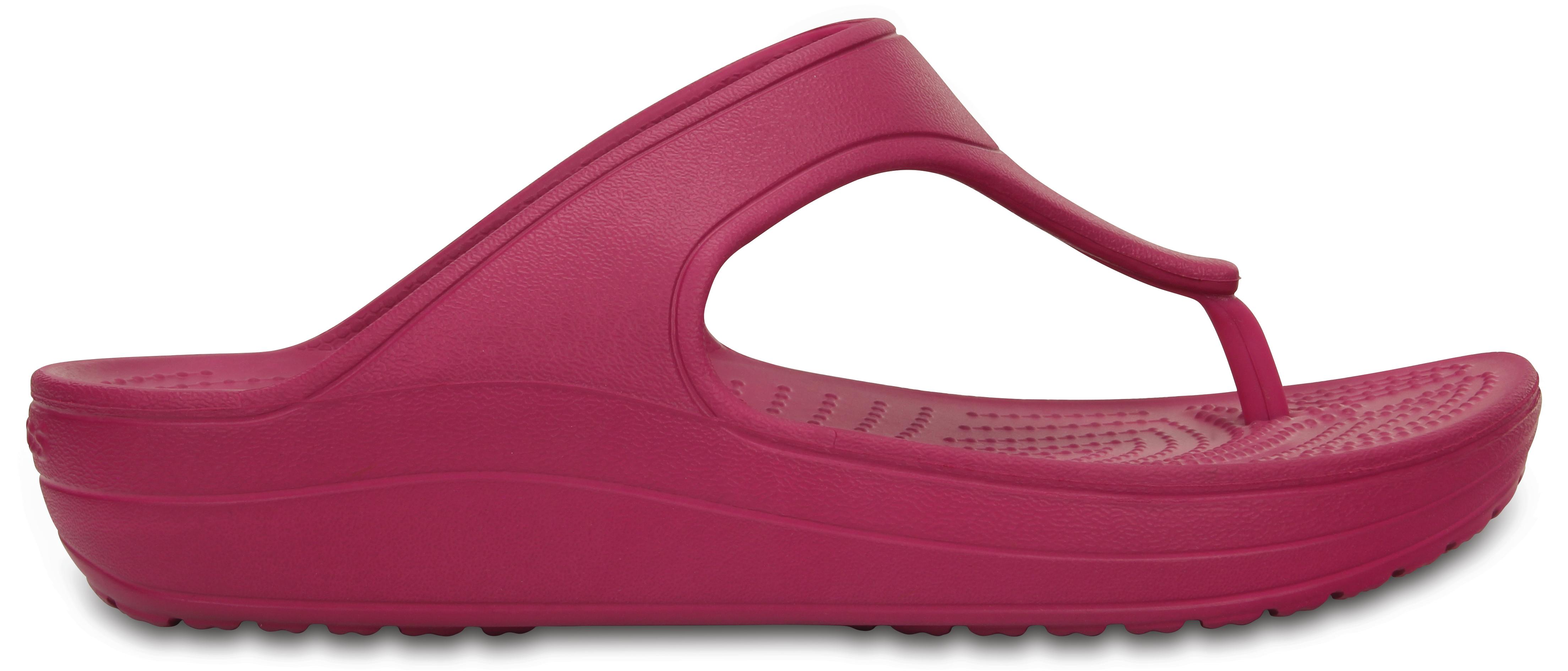 Crocs Crocs Sloane Platform Flip W - Berry W6 - vel.36 6b8bbdcfc0