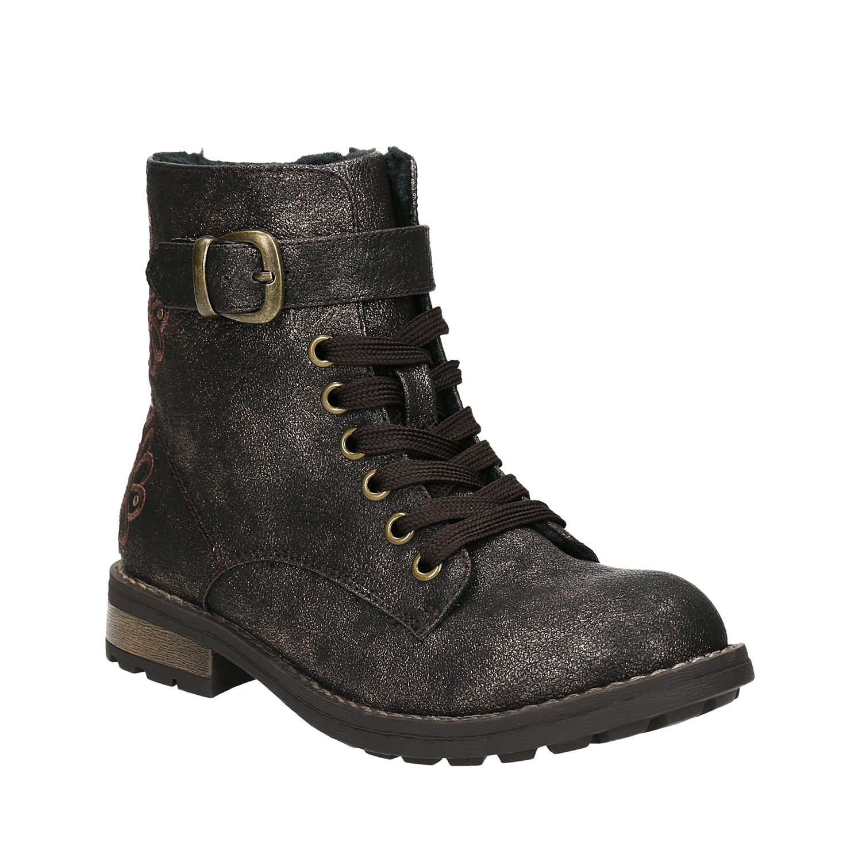 0a892a289944 Mini B Detská zimná obuv s výšivkou - Glami.sk