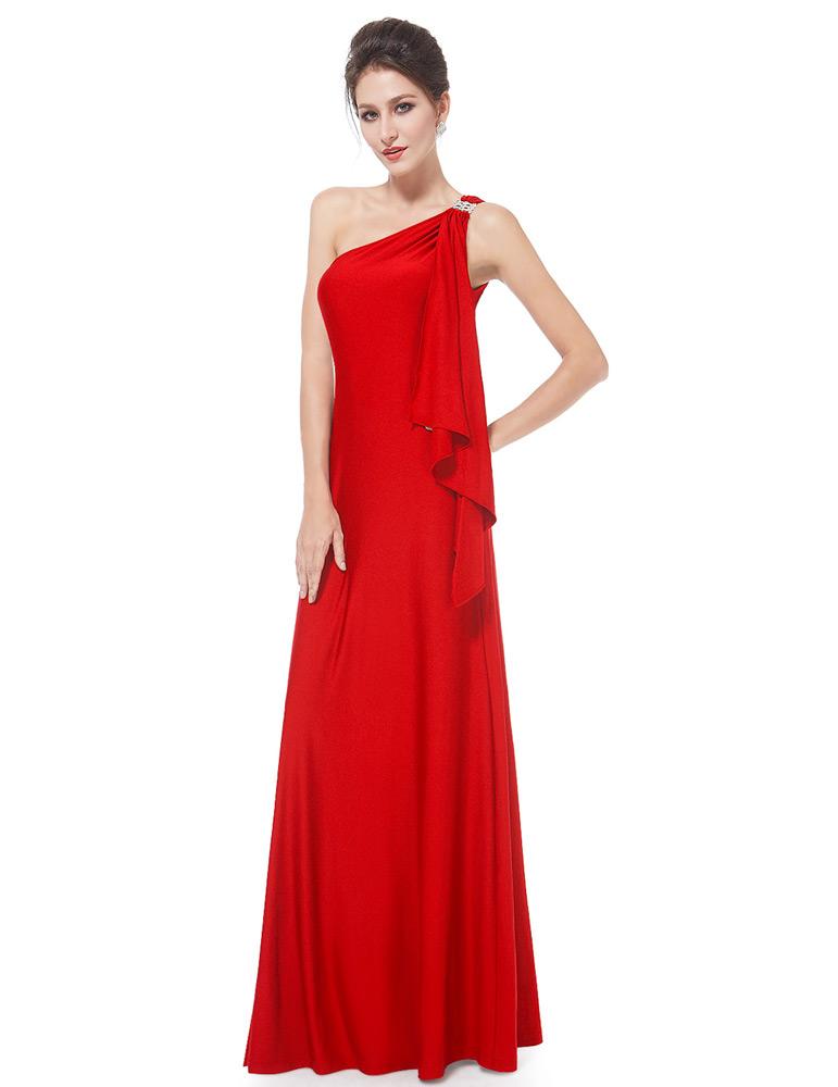 96d0ed5eeebc Ever-Pretty Červené večerní šaty antického střihu - Glami.cz