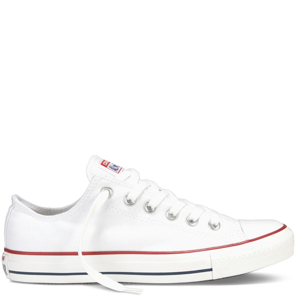 Biele Converse Chuck Taylor All Star Ox - Glami.sk b5a54de7283