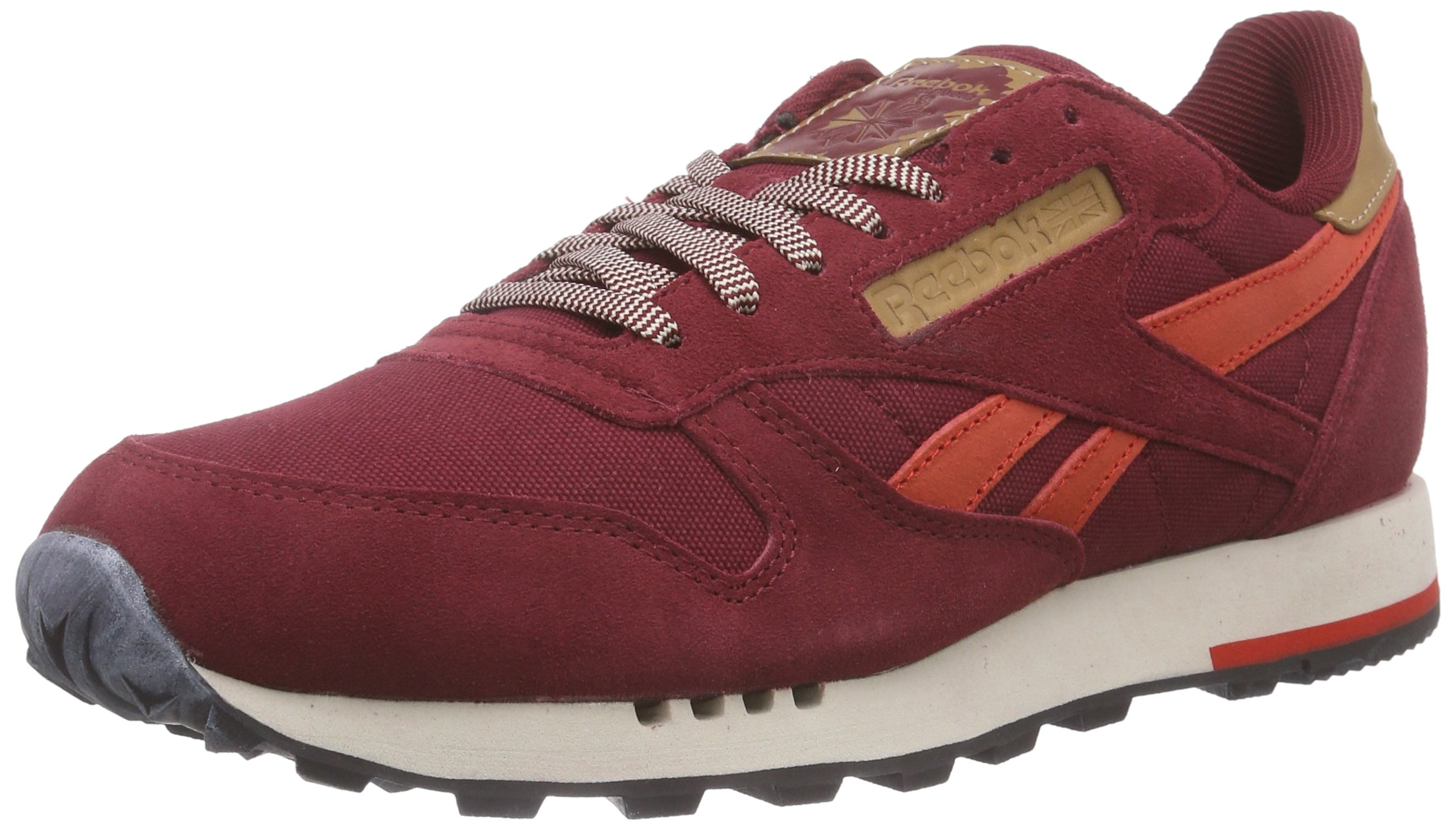 the best attitude 18bd3 8240c ... Classic Leather Utility Baskets Basses Homme, Rouge - Rot (Collegiate  Burgundy Motor. -17%. Reebok ...